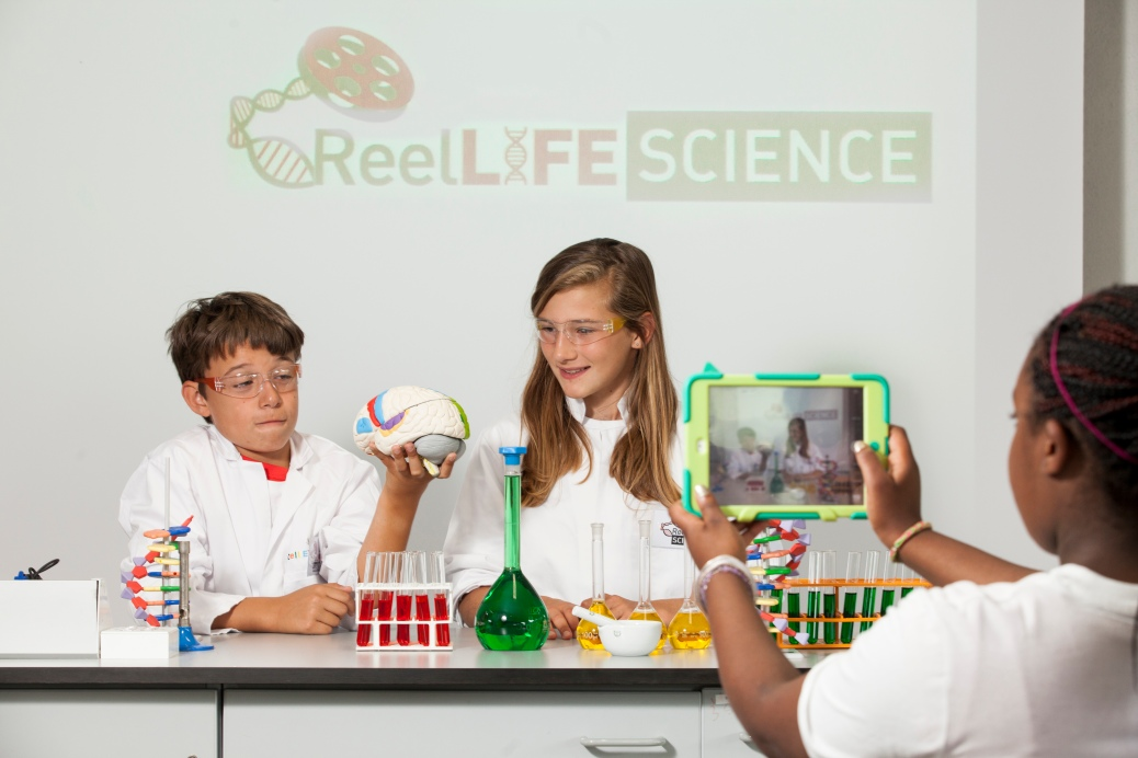 Making a video for ReelLIFE SCIENCE - it's not brain surgery!