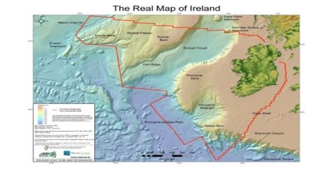 The Real Map of Ireland
