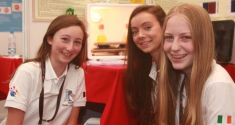 Ciara Judge, Sophie Healy-Thow and Emer Hickey. Photo credit: Irish Times