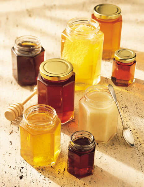 Different types of honey (Photo credit: http://keepingbee.org/different-types-of-honey/ )
