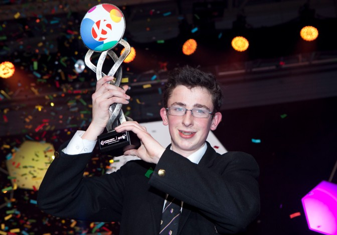 Paul Clarke, St. Paul's College, Raheny (Photo credit Chris Bellew, Fennell Photography)