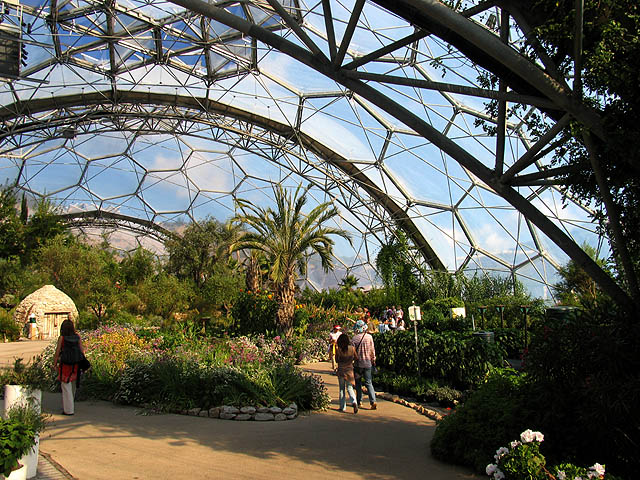 The Hot, Dry Biome, Eden Project - geograph.org.uk - 219410 by Pam Brophy