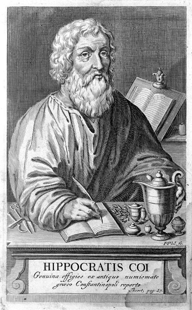 Hippocrates - the 'Father of Medicine' (image from Wellcome Images)