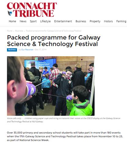 2014 Connacht Tribune Oct