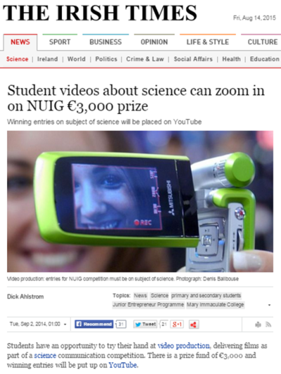 2014 Irish Times Sept