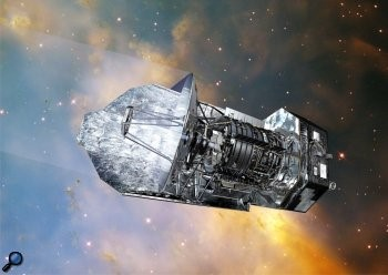 The Herschel Space Observatory (Image credit: ESA)