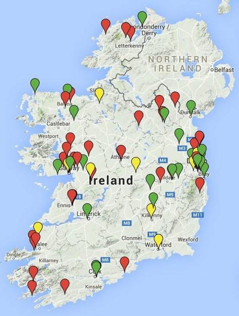 map shortlist