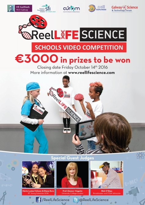 Click on the ReelLIFE SCIENCE 2016 Poster to download a copy for your classroom