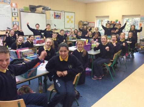 Coldwood NS students (photo courtesy Karen Jackson)